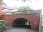 Old canal bridge now over a footpath