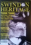 front cover of the autum issue of swindon heritage magazine