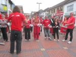 Swindon Samba strut their stuff