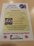 National Library Day flyer