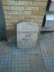 Signpost on Canal Walk, Swindon