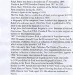 RB Timeline
