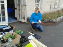 Incredible edible Swindon at Central community centre