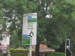 Rat Trap roundabout sign
