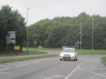 The White Hart roundabout