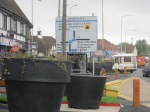 Moonrakers roundabout sign