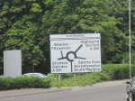 Supermarine roundabout sign