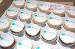 Catherine Jay branded cupcakes